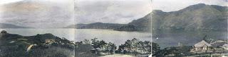 panorama danau toba dari parapat