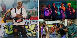 Funke Akindele, Eniola Badmus Other Actresses Show Off Their Rap In 'Omo Ghetto'