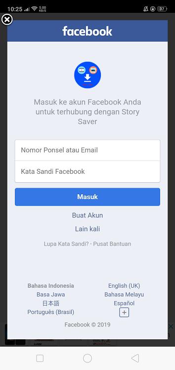 2 Cara Download Story Facebook Dengan Mudah