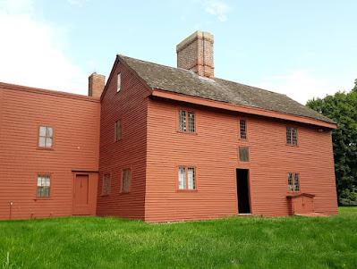 Rebecca Nurse Homestead. Danvers, Massachusetts. 1692 Salem Witchcraft Trials victim