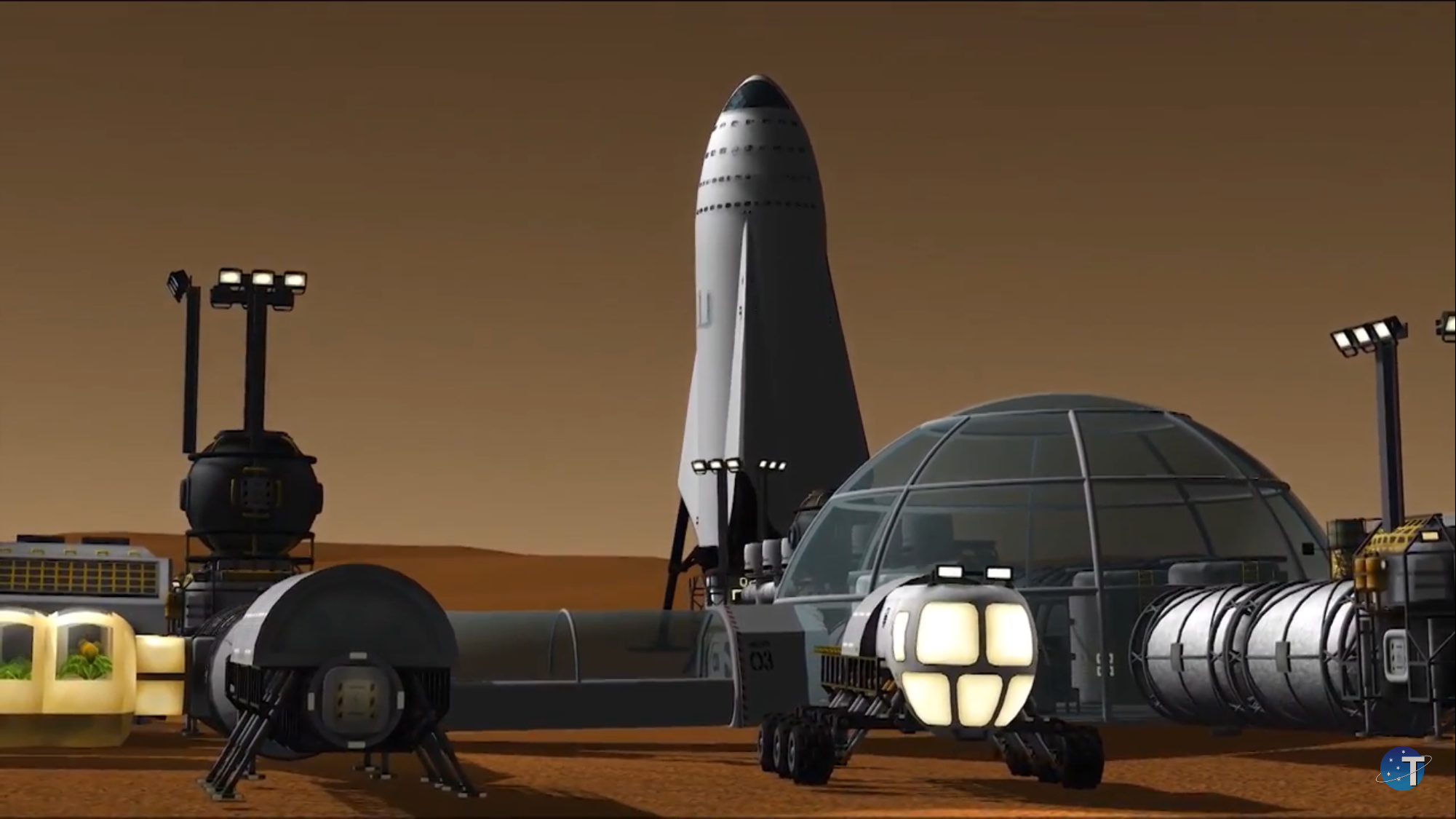 spacex mars base - photo #5