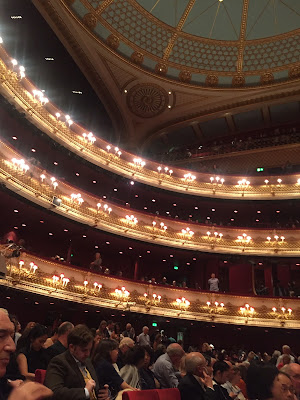 Swan Lake Ballet at the Royal Opera House and The Ivy, Covent Garden