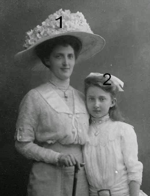 Princesses Eduard et Marie Auguste von Anhalt
