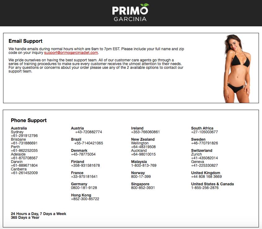 Primo Garcinia Review Scam