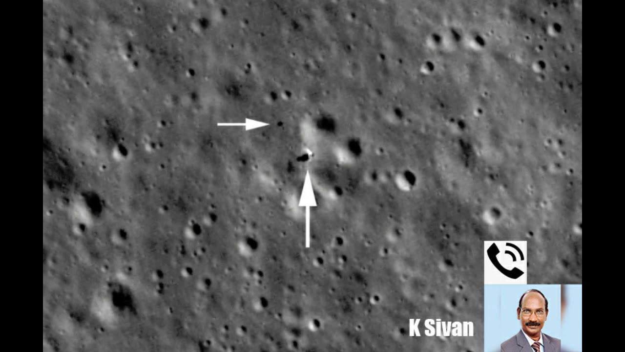 Vikram lander found