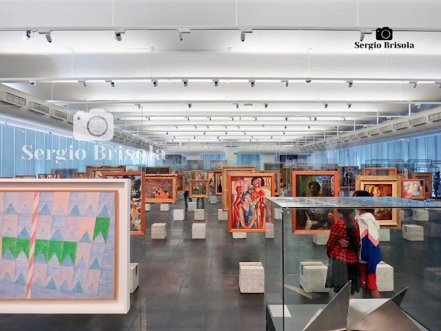 Pinacoteca e cavaletes de cristal - MASP