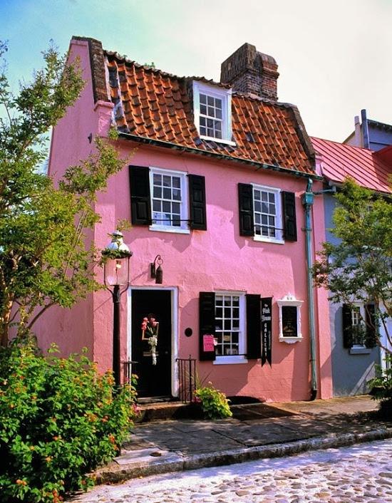 Formosa Casa Rosa A Magia Que Encanta