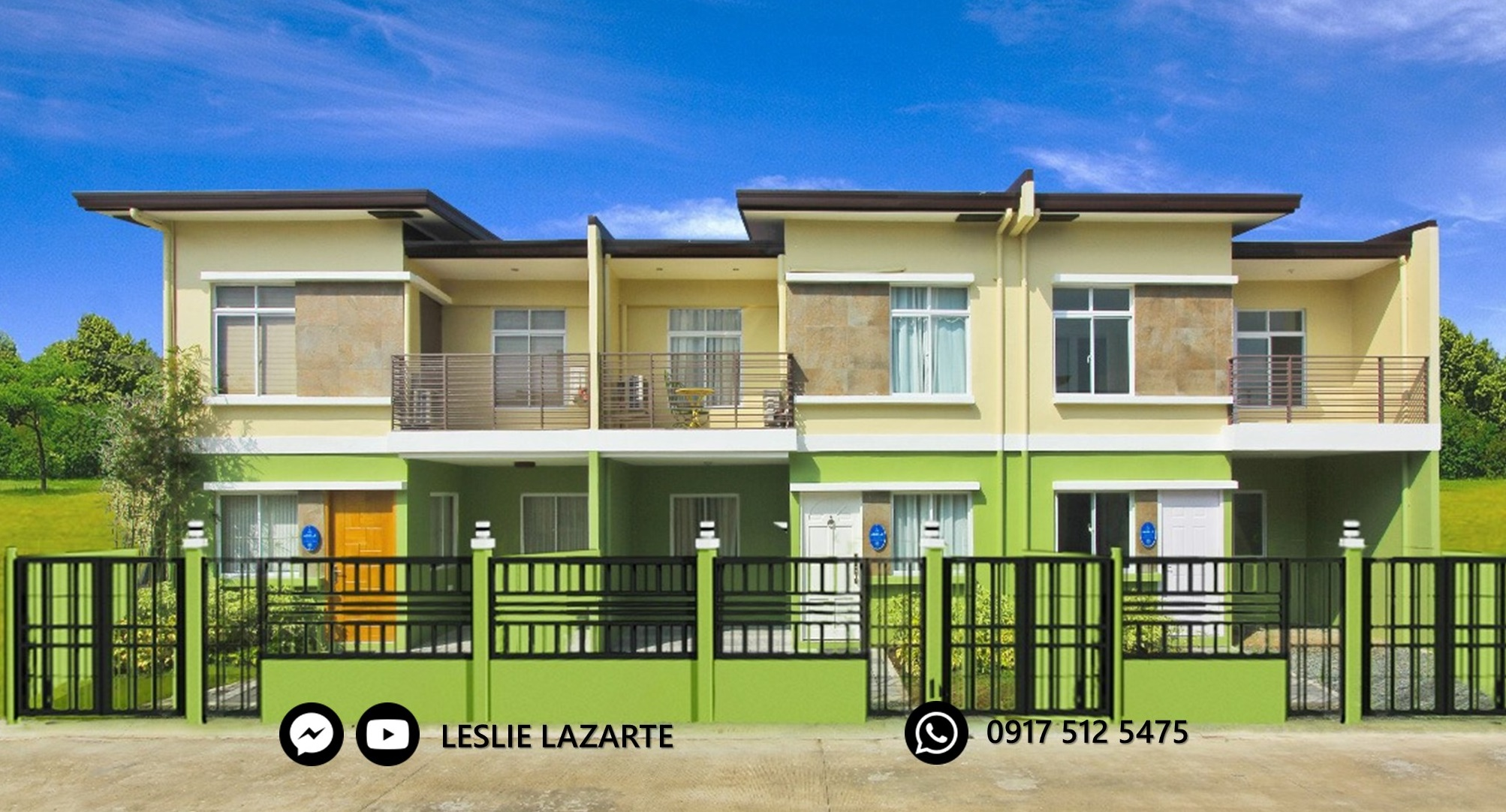 Adelle With Fence - Lancaster New City Cavite | House and Lot for Sale General Trias Cavite