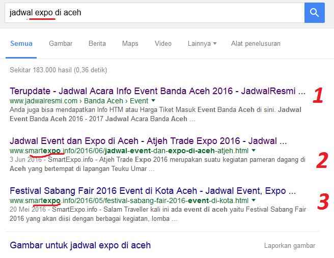 Cara Meningkatkan posisi Blog ke Halaman 1 google