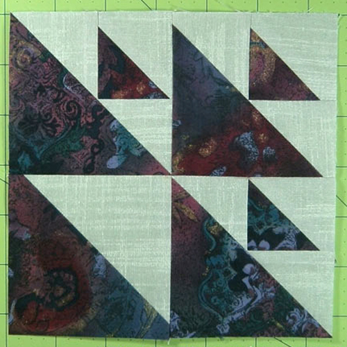 Aircraft Quilt Block - Free Pattern
