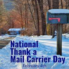 National Thank a Mail Carrier Day Wishes for Instagram