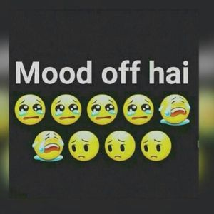 Mood Off DP for WhatsApp