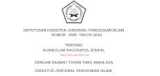 Download Kurikulum RA 2016 (SK Dirjen Pendis No. 3489 Tahun 2016)