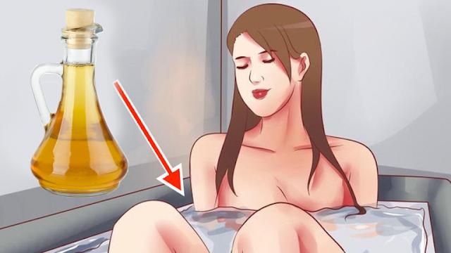Hechó un poco de vinagre de manzana en su bañera y sucedió algo increíble