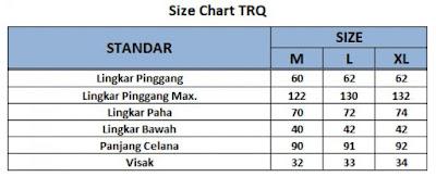 size chart training