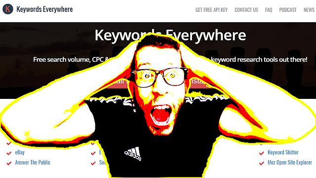 أفضل إضافة للحصول على معلومات الكلمات المفتاحية لن تصدق أنها مجانية Keywords Everywhere - Keyword Tool: