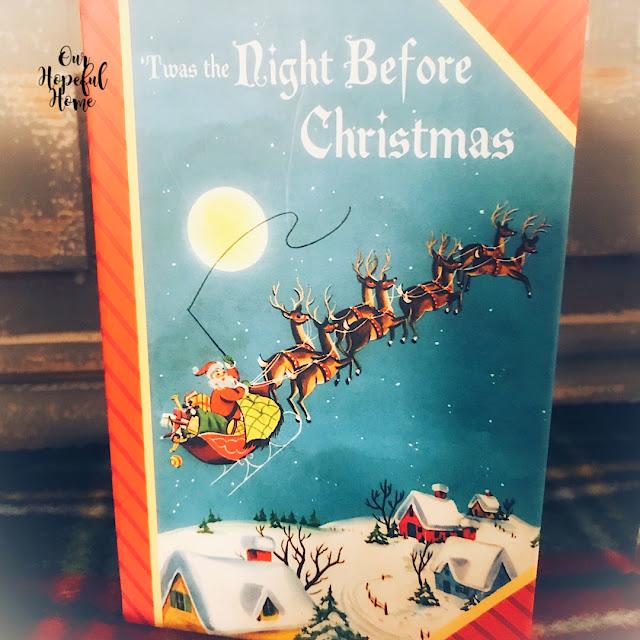 'Twas the Night Before Christmas Dollar Tree Christmas gift box