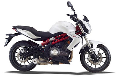 Benelli TNT 300 white color