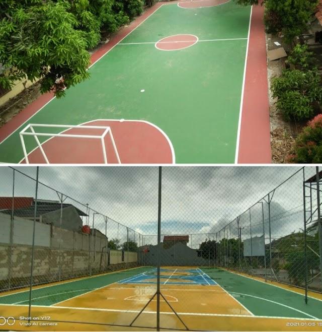 Horeee, Warga Wanasari Punya Lapangan Futsal Baru, Marlon DK: Terimakasih Pemkab Bekasi