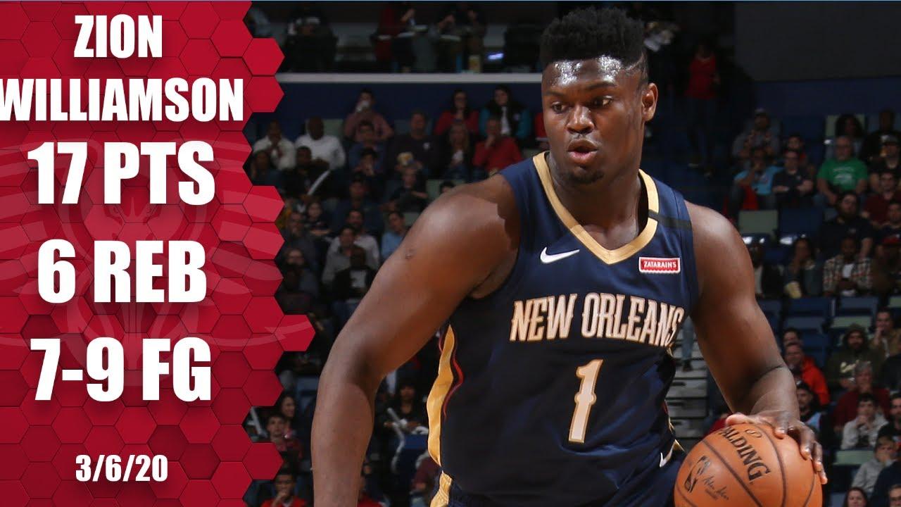 Zion Williamson 17pts 6reb vs MIA | March 6, 2020 | 2019-20 NBA Season