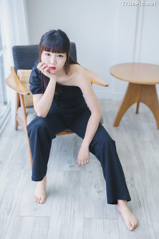 Image Thailand Model - Pakkhagee Arkornpattanakul - Cute Girl In Black - TruePic.net - Picture-9
