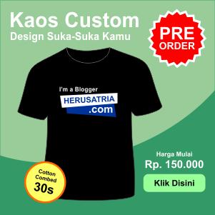 Kaos Keren Custom