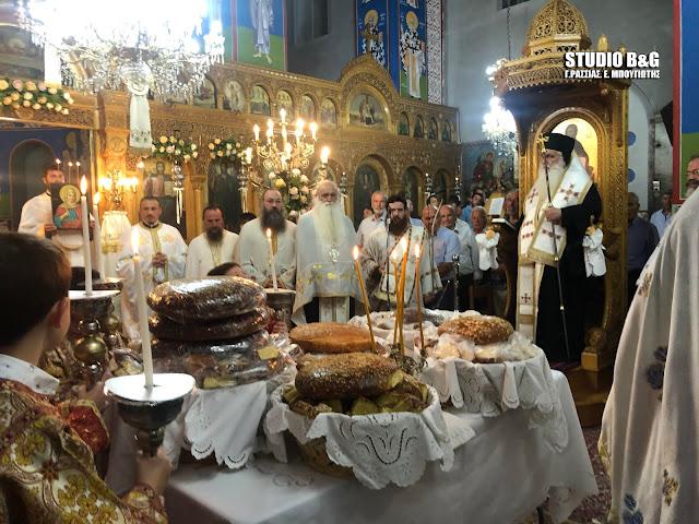 Αρχιερατικός εσπερινός στο Κουτσοπόδι Αργολίδας για την εορτή της Αγίας Κυριακής