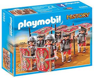 JUGUETES - PLAYMOBIL History : Historia  5393 Legión Romana  Edad: 6-12 años  Comprar en Amazon España