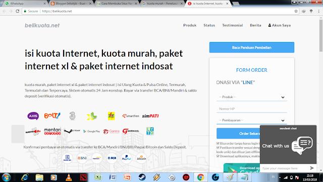 6 Situs Online Tempat Beli Paket Data Internet Murah