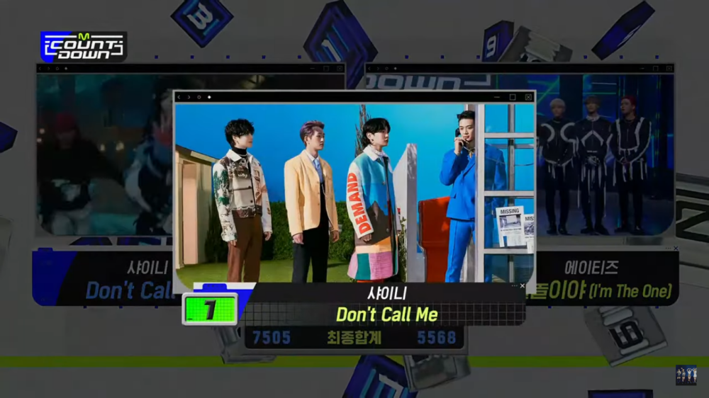SHINee Successfully Wins The 6th Trophy for the song 'Don't Call Me', Congratulations!