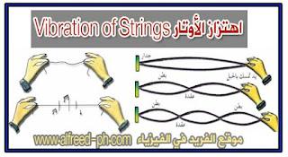 اهتزاز الأوتار Vibration of Strings الموجات الموقوفة والضربات