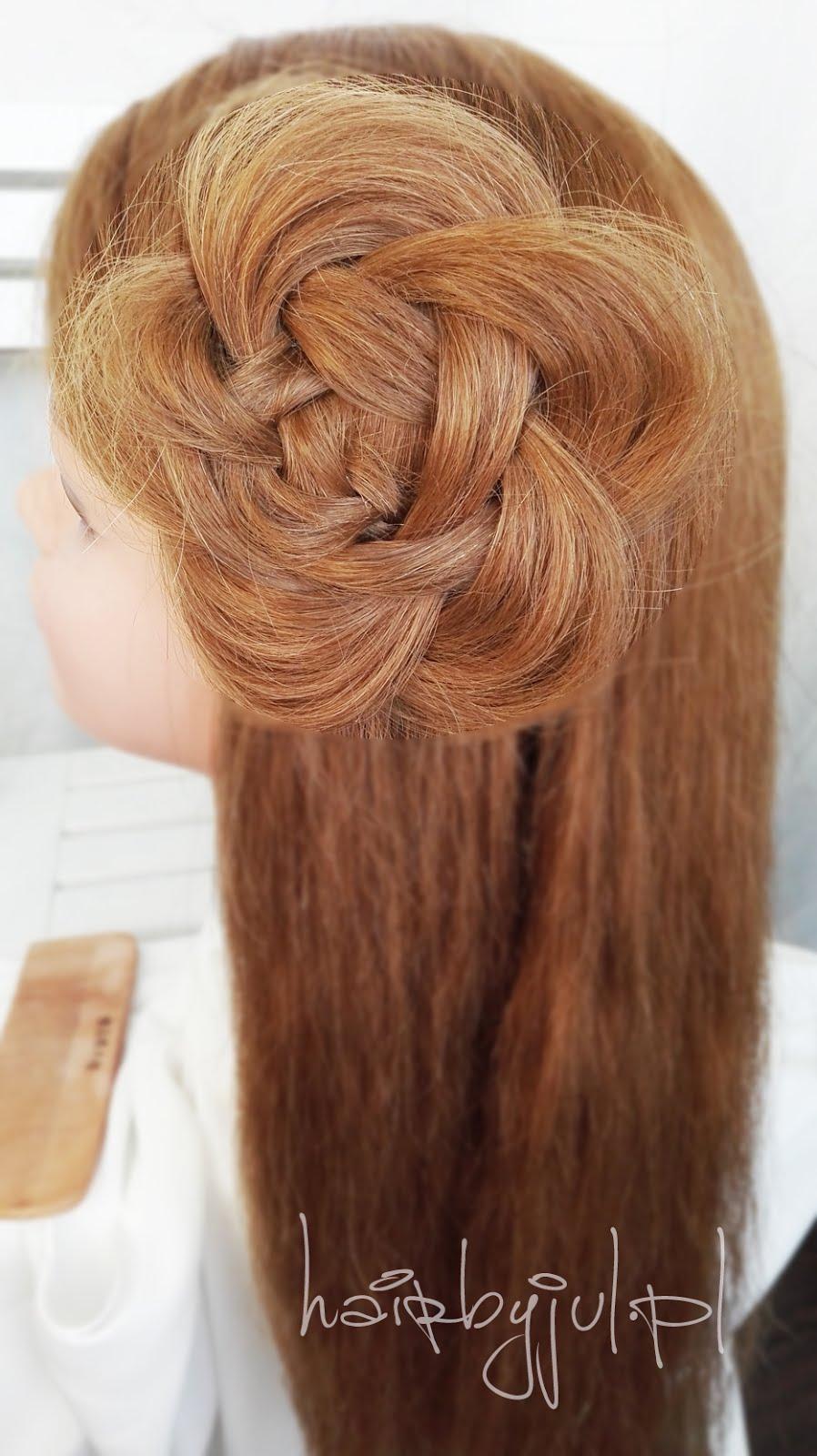 Kwiat Z Warkocza Krok Po Kroku Hair By Jul Fryzury Krok