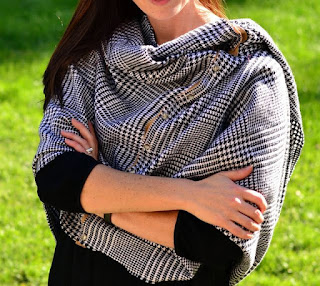 Shoulder Wrap Infinity Scarf Pattern