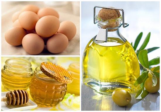Cách chữa nám da mặt bằng lòng trắng trứng kết hợp với dầu Oliu