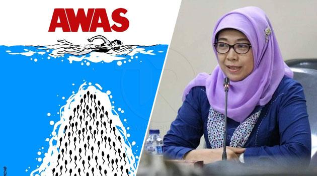 Jokowi pecat pegawainya kerana keluar kenyataan perempuan boleh hamil jika berenang di swimming pool