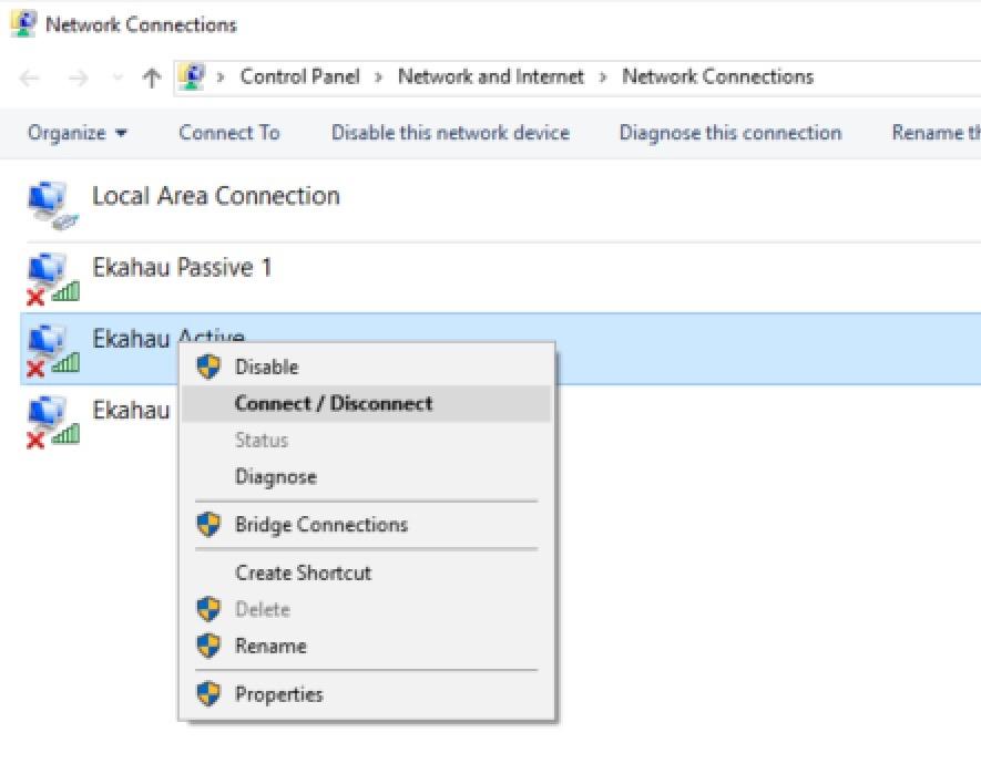 Ekahau Site Survey Multi-USB Adapter Configuration
