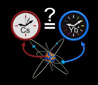 Un àtom que té propietats superiors per als rellotges atòmics