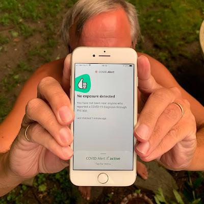 COVID Alert Smartphone App