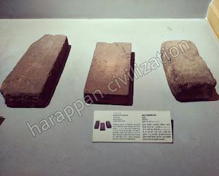 bricks size of harappan civilization
