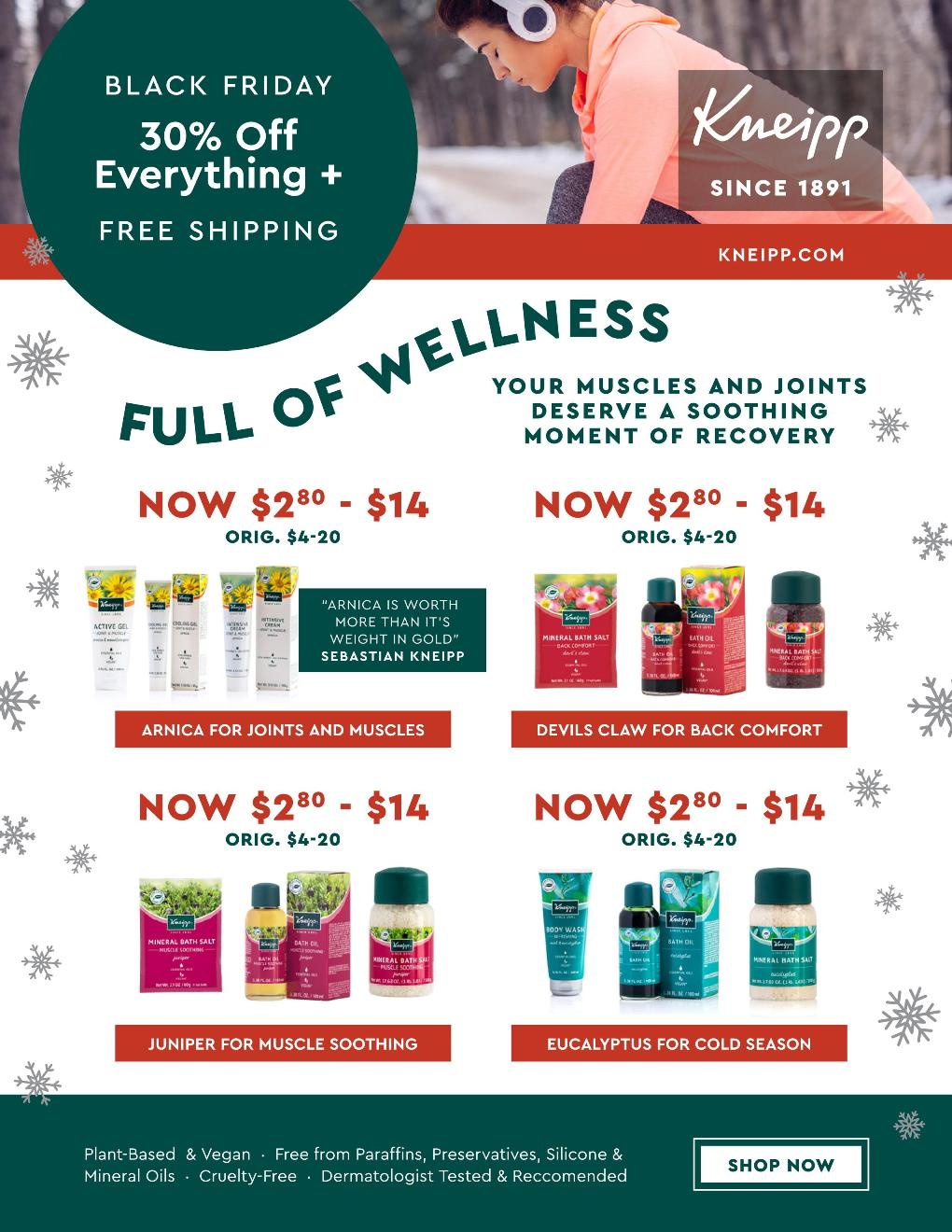 Kneipp Black Friday page 4