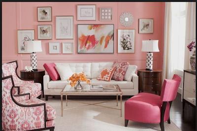 Desain Rumah Nuansa Pink Yang Cantik 4