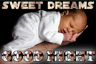 Good night image cute baby girl, good night baby image, good night baby pic