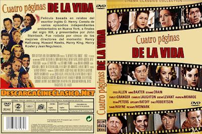Carátula dvd: Cuatro paginas de la vida / Lágrimas y risas