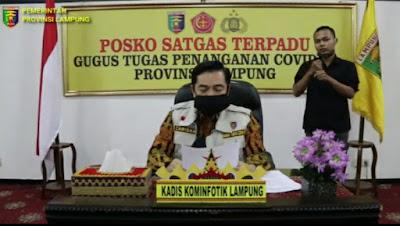 Bantu Masyarakat Terdampak Covid-19, Pemprov Lampung Salurkan 15.468 Paket Sembako