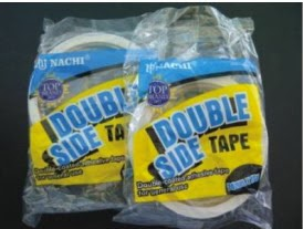 isolasi double tape nachi