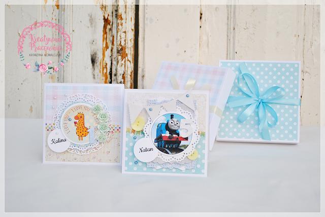 kartka urodzinowa dla dziecka handmade