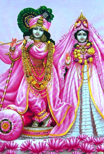 Krishna Radha HD Wallpaper