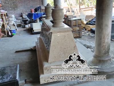 Model Makam Pahlawan, Model Kuburan Islami, Pengrajin Makam Tulungagung
