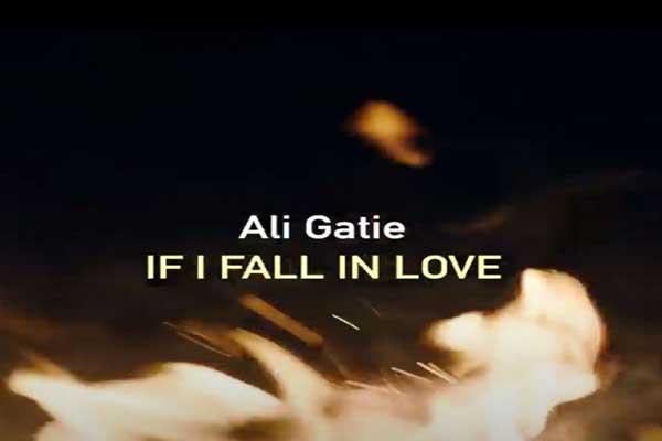 Lirik Lagu Ali Gatie If I Fall In Love dan Terjemahan