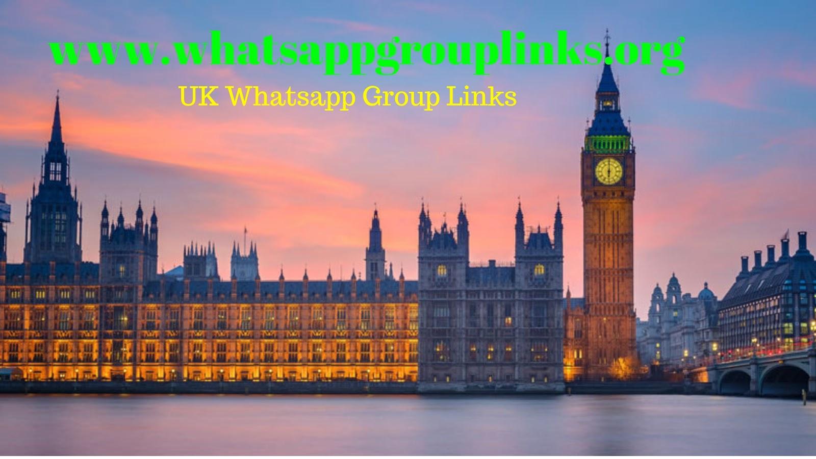 JOIN UK WHATSAPP GROUP LINKS LIST - Whatsapp Group Links